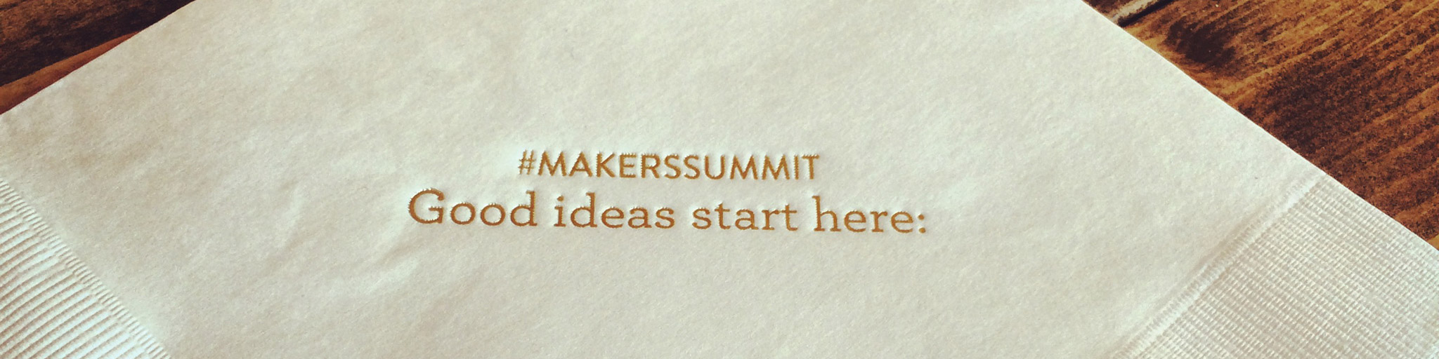 The Maker's Summit feature image